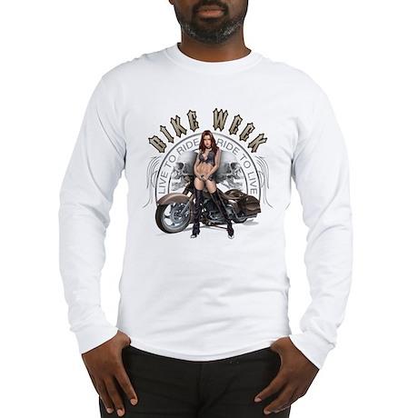 CP1010-Bike Week Chaps Babe Long Sleeve T-Shirt