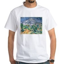Mont Sainte-Victoire, 1900 by Paul Cezanne T-Shirt