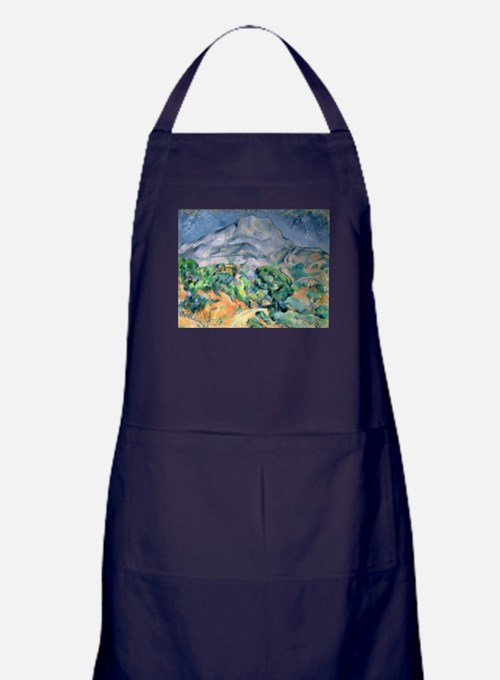 Cute Post impressionist Apron (dark)