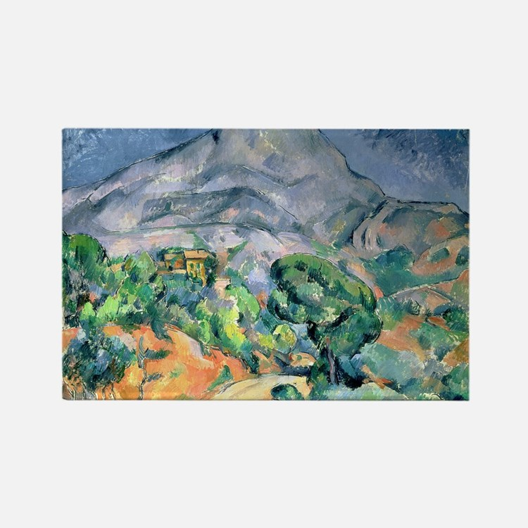 Cute Post impressionist Rectangle Magnet (100 pack)