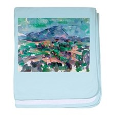 Cute Post impressionist baby blanket
