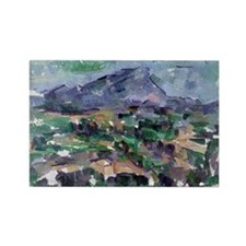 Post impressionist Rectangle Magnet (10 pack)