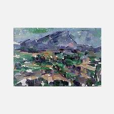 Unique Cezanne Rectangle Magnet