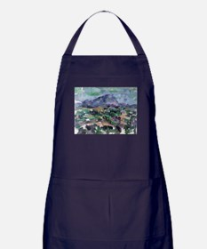 Post impressionist Apron (dark)
