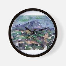 Unique Cezanne Wall Clock