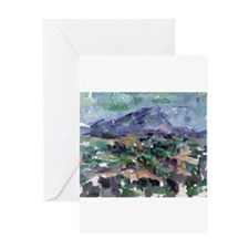 Funny Cezanne Greeting Card