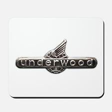 Underwood typewriter logo Mousepad