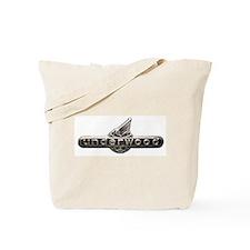 Underwood typewriter logo Tote Bag