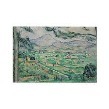 Post impressionist art Rectangle Magnet