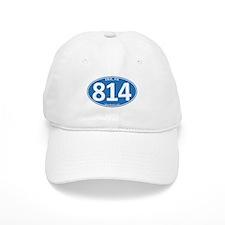 Blue Erie, PA 814 Baseball Cap
