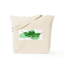 Two Peas Tote Bag