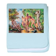 Post impressionist baby blanket