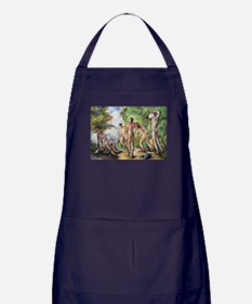 Cool Post impressionist Apron (dark)