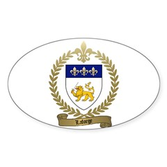 LAFORGE Family Crest Decal