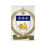 LAFORGE Family Crest Rectangle Magnet (10 pack)