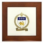 LAFORGE Family Crest Framed Tile
