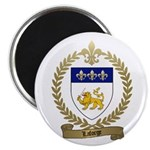 "LAFORGE Family Crest 2.25"" Magnet (100 pack)"