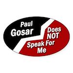 Paul Gosar Does Not speak For Me