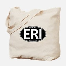 Black Oval ERI Tote Bag