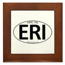 Oval ERI Framed Tile
