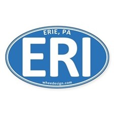 Blue Oval ERI Decal