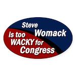 Steve Womack is too Wacky bumper sticker
