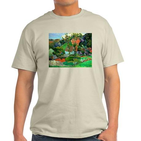 Landscape at Pont Aven by Paul Gauguin T-Shirt