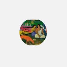 Unique Post impressionism Mini Button