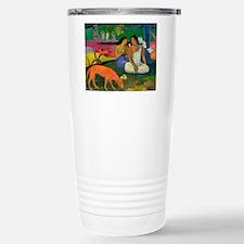 Unique Post impressionist art Travel Mug