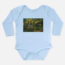 Unique Post impressionism Long Sleeve Infant Bodysuit