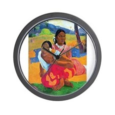 Funny Paul gauguin Wall Clock