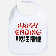 Happy Ending Massage Parlor Bib