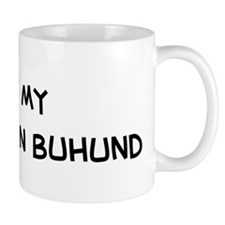 I Love Norwegian Buhund Mug