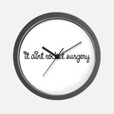 Rocket Surgery Wall Clock