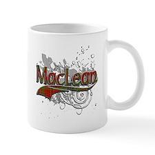 MacLean Tartan Grunge Mug