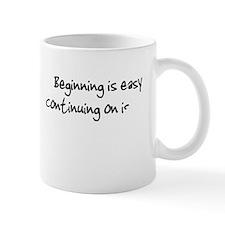 I Never Finish Anything Anyth Mug