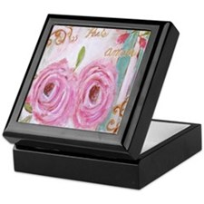 Shabby Chic Roses Keepsake Box