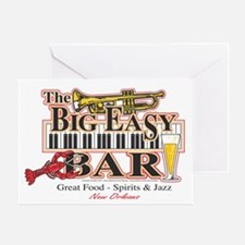 Big Easy Piano Bar Greeting Card