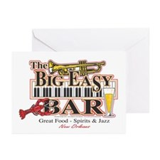 Big Easy Piano Bar Greeting Cards (Pk of 10)