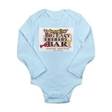 Big Easy Piano Bar Long Sleeve Infant Bodysuit