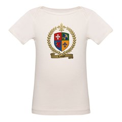 LAVIGNE Family Crest Organic Baby T-Shirt