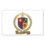 LAVIGNE Family Crest Sticker (Rectangle 50 pk)