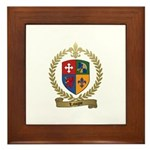 LAVIGNE Family Crest Framed Tile