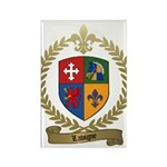 LAVIGNE Family Crest Rectangle Magnet (10 pack)