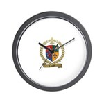 LAVIGNE Family Crest Wall Clock