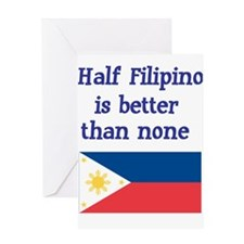 Cool Philippines Greeting Card
