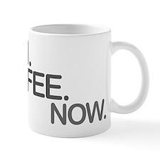 Intern. Coffee. Now. Small Mugs