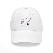 Westie Love Baseball Cap