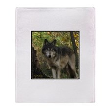 Wolf Spirit Throw Blanket