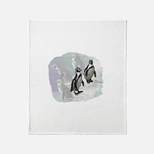 Humboldt Penguins Throw Blanket